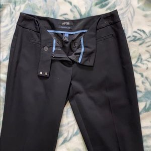 Black Capri dress pants